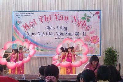 Hội thi văn nghệ chào mừng ngày nhà giáo Việt Nam 20-11-2018