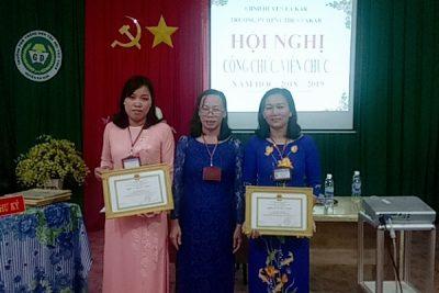 HỘI NGHỊ CÁN BỘ CÔNG CHỨC, VIÊN CHỨC, NGƯỜI LAO ĐỘNG NĂM HỌC 2018-2019
