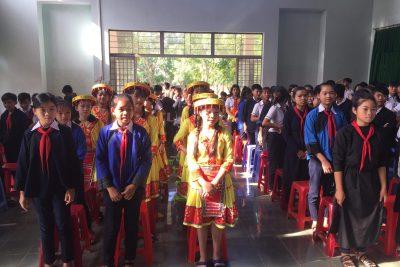 Lễ tổng kết năm học 2017-2018 trường PTDT Nội Trú THCS Eakar